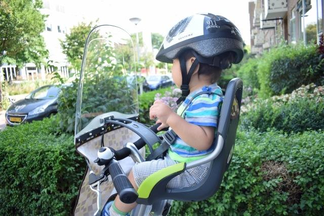 子供乗せ電動自転車